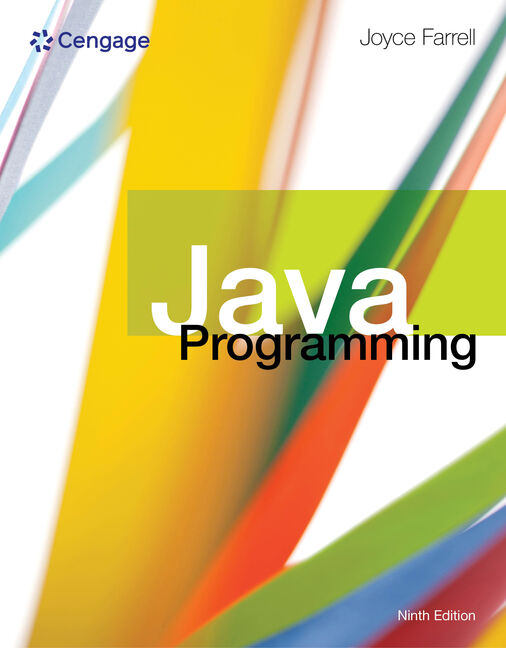Java programming 9th edition cengage fandeluxe Images