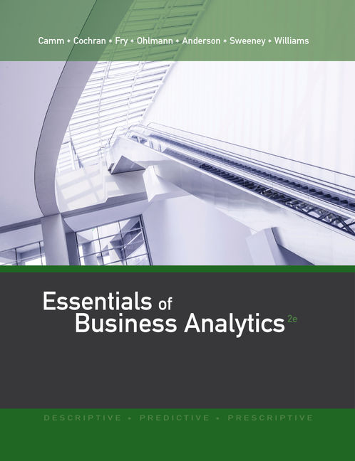 Essentials of business analytics 2nd edition 9781305627734 cengage product cover for essentials of business analytics 2nd edition by jeffrey d cammjames fandeluxe Images