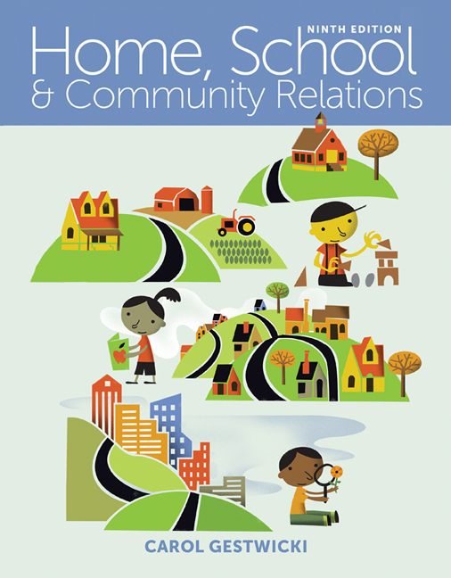 ???label.coverImageAlt??? Home, School, and Community Relations 9th Edition by Carol Gestwicki