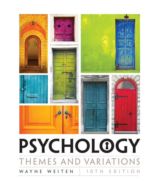 Psychology themes and variations 10th edition cengage fandeluxe Images