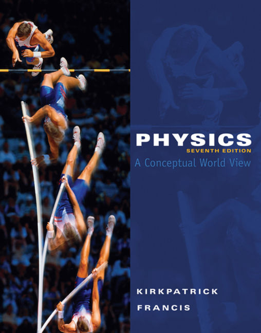 WebAssign for Physics: A Conceptual World View, 7th Edition