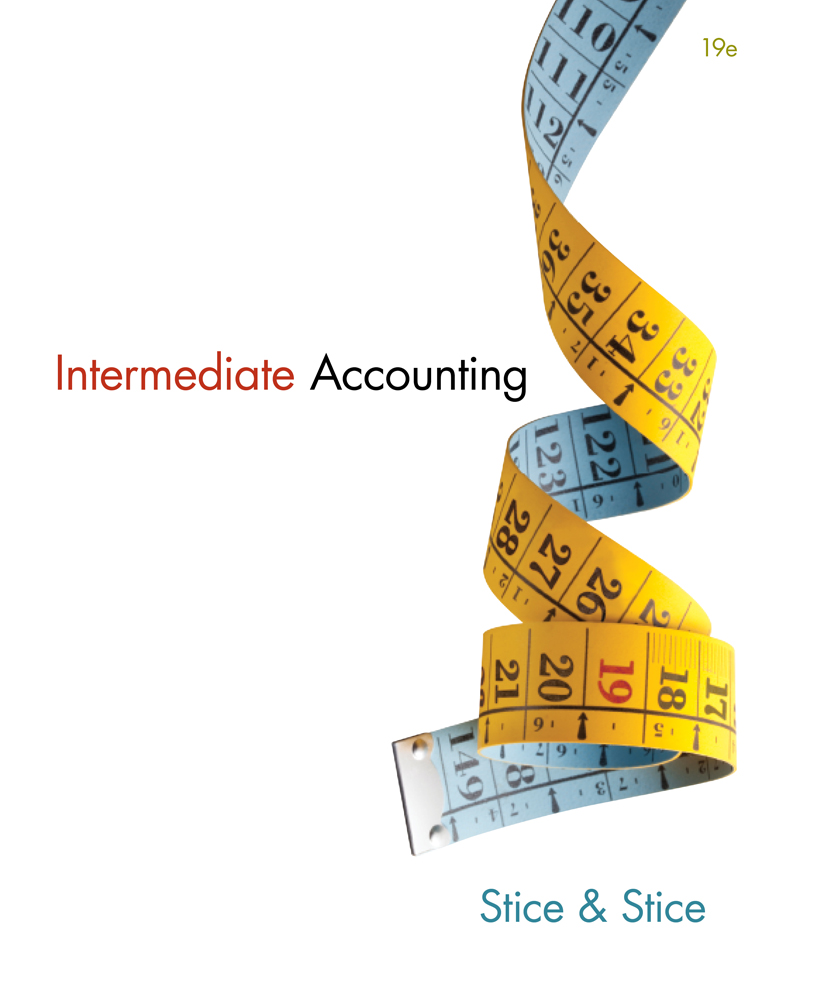 Product cover for Intermediate Accounting 19th Edition by Earl K. Stice/James  D.