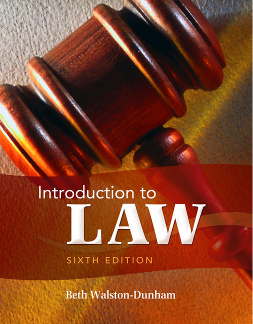 Introduction to law 6th edition 9781111311896 cengage introduction to law 6th edition by beth fandeluxe Gallery