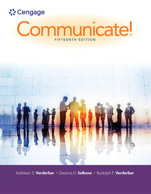Communicate 15th edition 9781305502819 cengage 15th edition by kathleen s fandeluxe Gallery