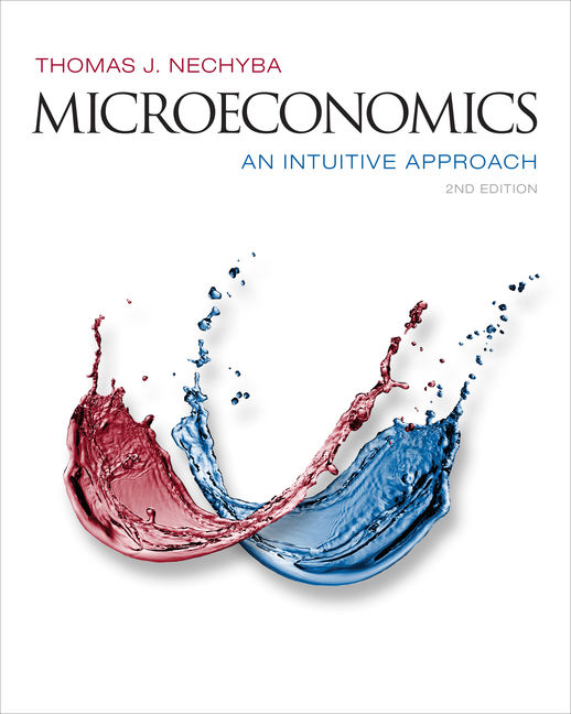 ???label.coverImageAlt??? MindTap Economics for Microeconomics: An Intuitive Approach 2nd Edition by Thomas Nechyba