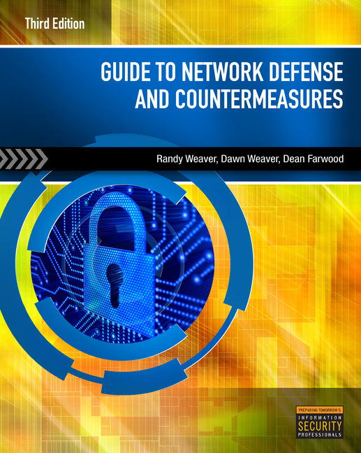 ???label.coverImageAlt??? Guide to Network Defense and Countermeasures 3rd Edition by Randy Weaver/Dawn Weaver/Dean Farwood
