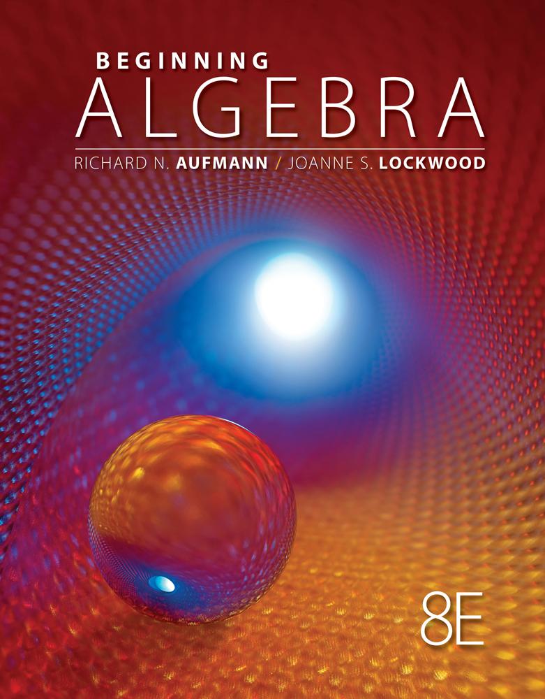 Beginning Algebra 8th Edition Cengage