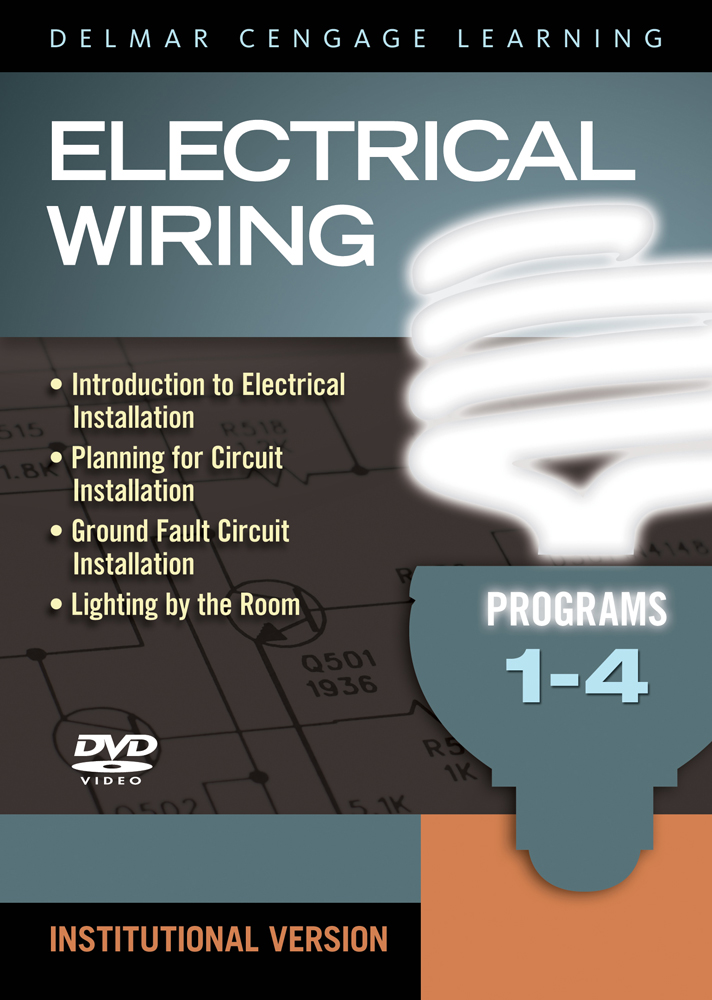 Electrical Wiring DVD Set (1-4), 1st Edition - Cengage