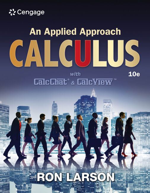 Calculus an applied approach 10th edition 9781305860919 cengage product cover for calculus an applied approach 10th edition by ron larson fandeluxe Images
