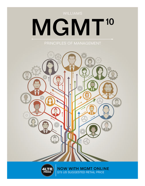 Mgmt 10th edition cengage product cover for mgmt 10th edition by chuck williams fandeluxe Choice Image