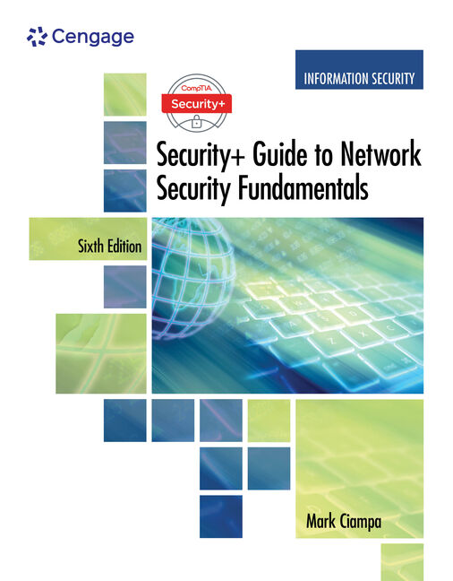 Comptia security guide to network security fundamentals 6th product cover for comptia security guide to network security fundamentals 6th edition by mark ciampa fandeluxe Images
