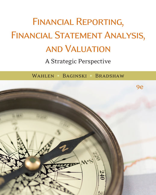 Financial reporting financial statement analysis and valuation 9th product cover for financial reporting financial statement analysis and valuation 9th edition by james m fandeluxe Gallery
