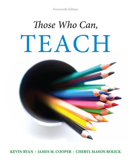 Those Who Can Teach 14th Edition