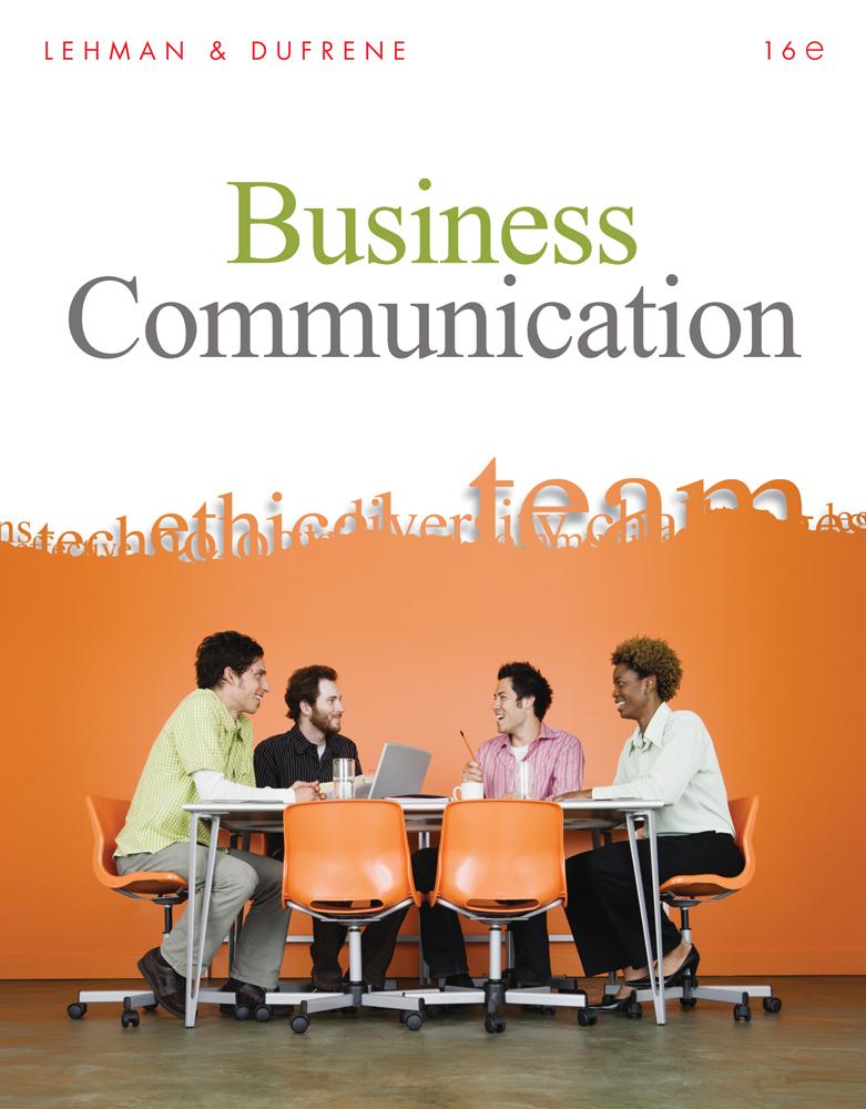 Business communication 16th edition cengage product cover for business communication 16th edition by carol m lehmandebbie d fandeluxe Choice Image