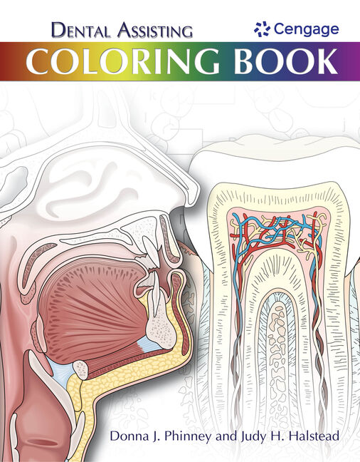 Dental Assisting Coloring Book, 1st Edition - Cengage