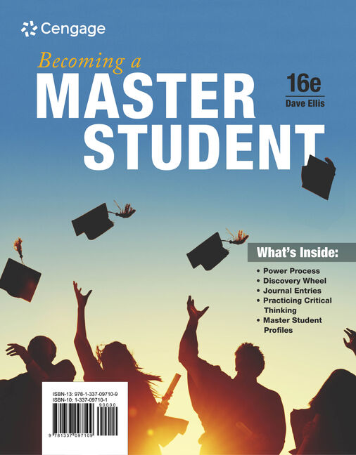 Becoming a master student 16th edition 9781337097109 cengage becoming a master student 16th edition fandeluxe Gallery