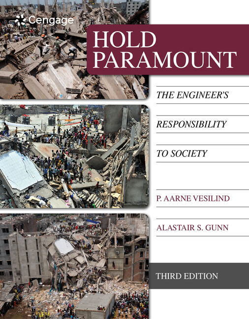 Hold paramount the engineers responsibility to society 3rd hold paramount the engineers responsibility to society 3rd edition cengage fandeluxe Gallery