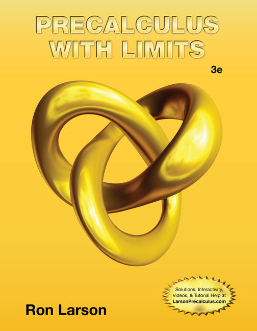 Precalculus with Limits, 3rd Edition - Cengage