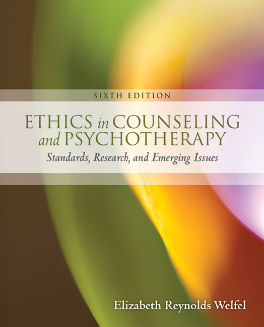 Ethics in counseling psychotherapy 6th edition cengage fandeluxe Gallery