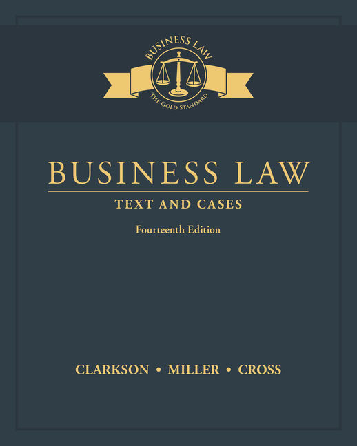 Business law text and cases 14th edition cengage fandeluxe Image collections