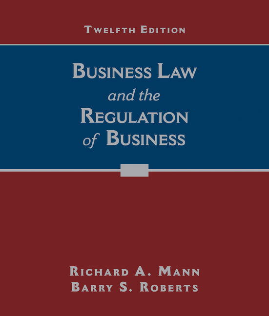Business law and the regulation of business 12th edition labelverimagealt business law and the regulation of business fandeluxe Choice Image