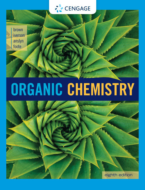 Organic chemistry 8th edition cengage product cover for organic chemistry 8th edition by william h brownbrent l fandeluxe Choice Image