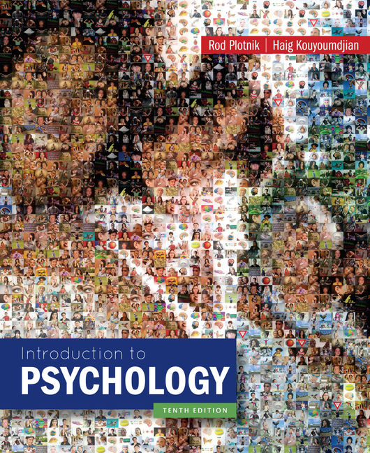 Product cover for Introduction to Psychology 10th Edition by Rod Plotnik/Haig Kouyoumdjian