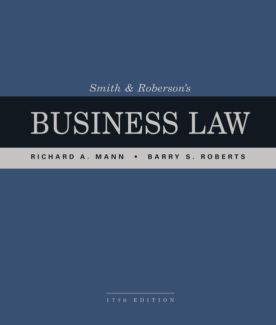 Smith and robersons business law 17th edition 9781337094757 labelverimagealt smith and robersons business law 17th edition fandeluxe Choice Image