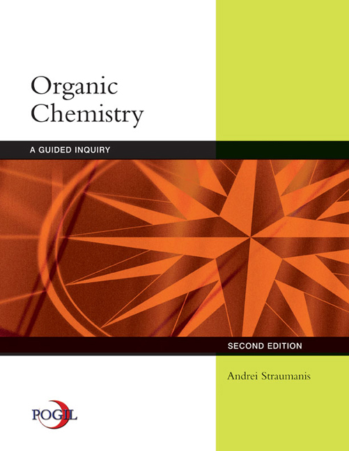 Organic Chemistry A Guided Inquiry 2nd Edition Cengage