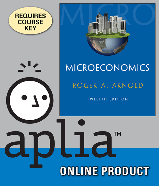 ???label.coverImageAlt??? Aplia for Microeconomics 12th Edition by Roger A. Arnold