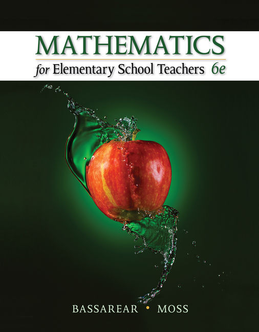 Mathematics for elementary school teachers 6th edition cengage fandeluxe Gallery