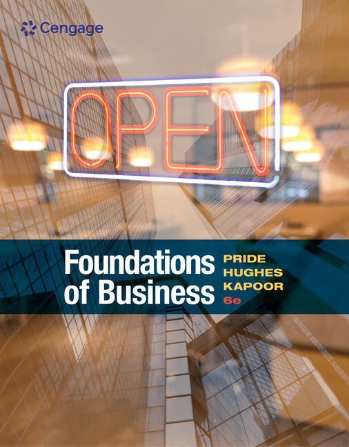 Foundations of Business, 6th Edition - Cengage
