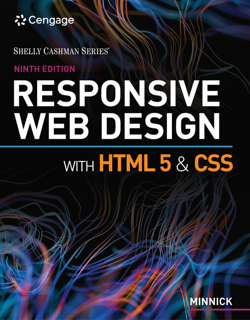 Responsive Web Design With Html 5 Css 9th Edition 9780357423837 Cengage