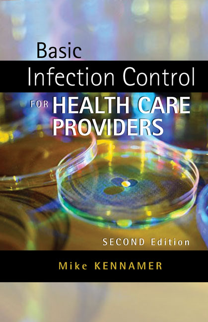 ???label.coverImageAlt??? Basic Infection Control for Healthcare Providers 2nd Edition by Michael Kennamer