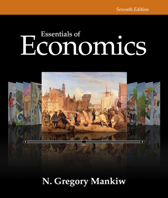 Product cover for Essentials of Economics 7th Edition by N. Gregory Mankiw