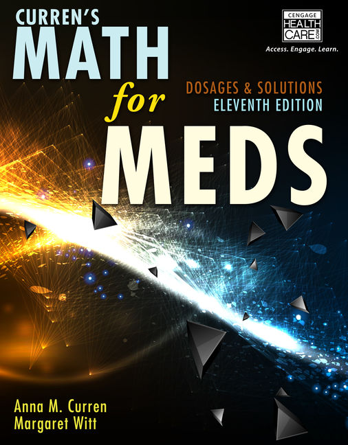 Currens math for meds dosages and solutions 11th edition currens math for meds dosages and solutions 11th edition fandeluxe Choice Image