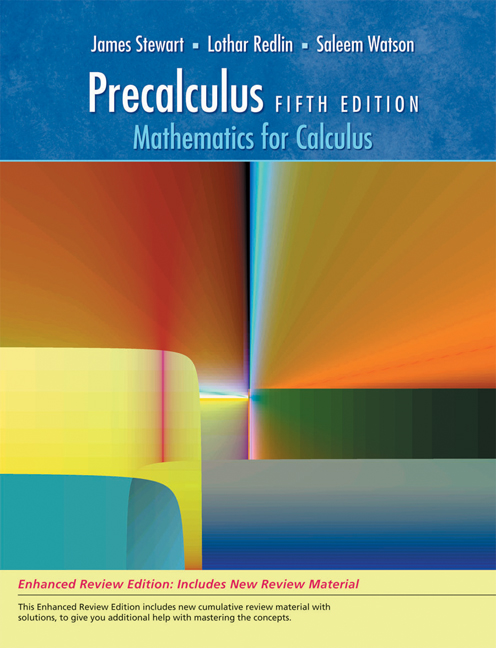 Precalculus mathematics for calculus 5th edition cengage fandeluxe Image collections