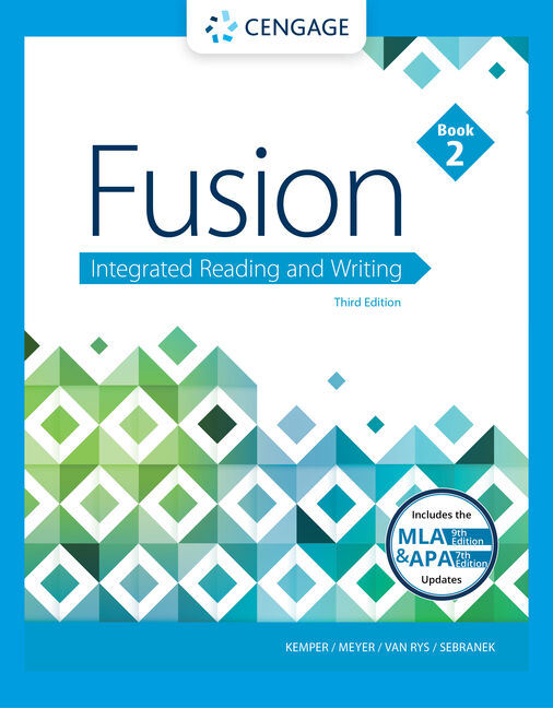 Fusion integrated reading and writing book 2 3rd edition cengage students buy or rent malvernweather Images