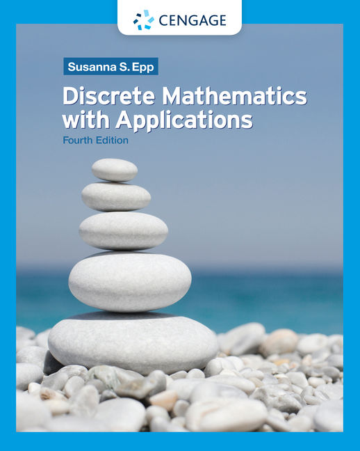 Product cover for Discrete Mathematics with Applications 4th Edition by  Susanna S. Epp