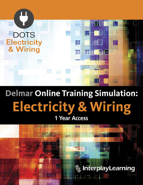 product cover for delmar online training simulation: electricity & wiring  instant access 5th edition by