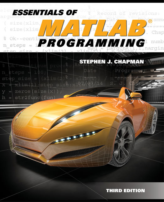 Product cover for Essentials of MATLAB® Programming 3rd Edition by Stephen J. Chapman