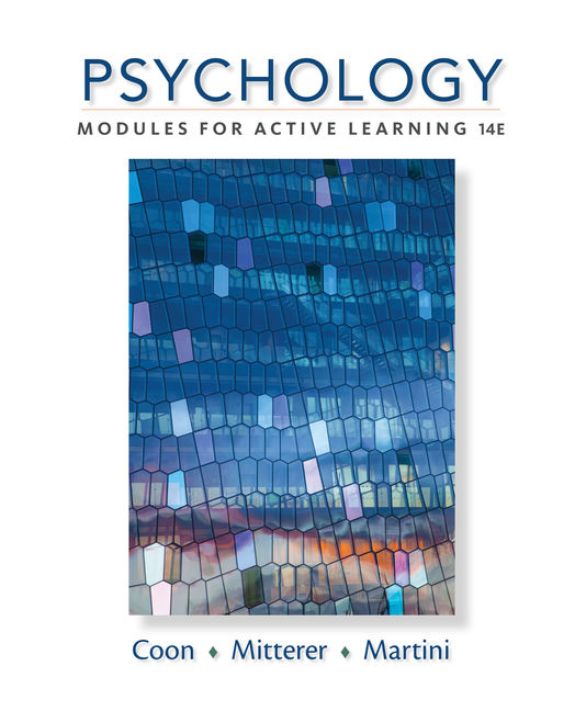 Psychology modules for active learning 14th edition cengage fandeluxe Image collections