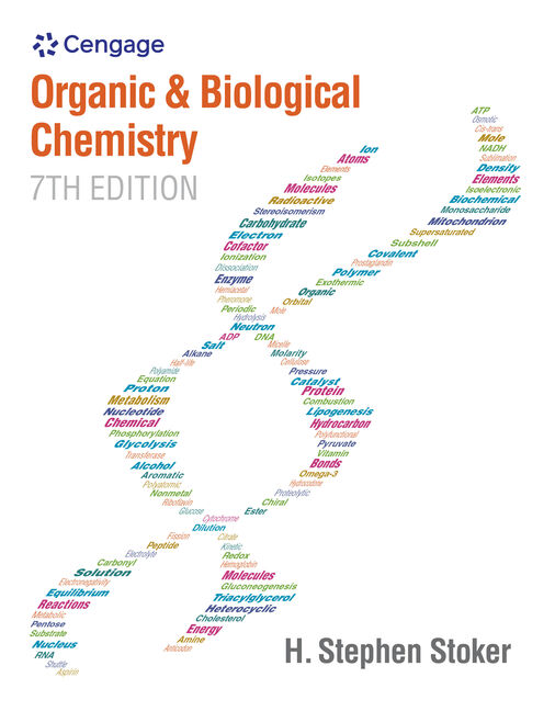 Product cover for Organic and Biological Chemistry 7th Edition by H. Stephen Stoker