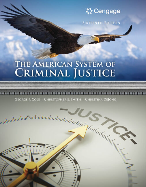 The american system of criminal justice 16th edition cengage fandeluxe Gallery