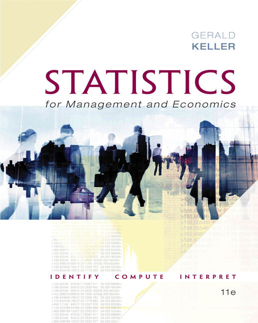 Statistics for management and economics student solution manual.