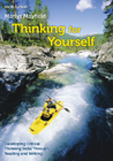Thinking for yourself 9th edition 9781133311188 cengage thinking for yourself 9th edition by marlys fandeluxe Image collections