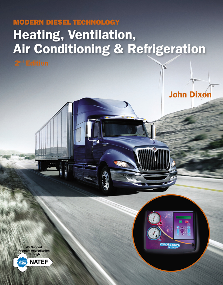 Product cover for Modern Diesel Technology: Heating, Ventilation, Air Conditioning & Refrigeration 2nd Edition by John Dixon