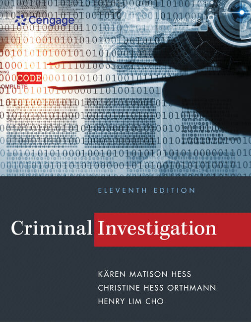 Criminal investigation 11th edition 9781285862613 cengage criminal investigation 11th edition by kren m fandeluxe Image collections
