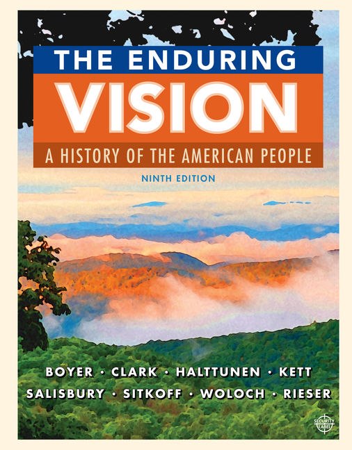 The enduring vision a history of the american people 9th edition the enduring vision a history of the american people 9th edition cengage fandeluxe Images