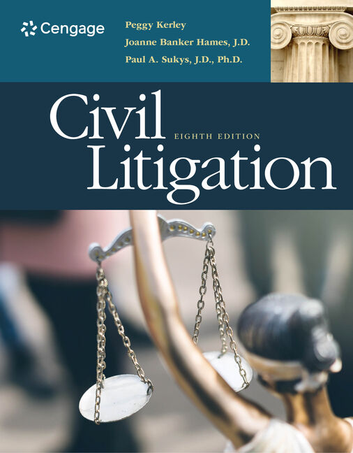 Civil Litigation, 8th Edition - Cengage